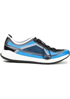 Adidas By Stella Mccartney Woman Ultraboost 20 Mesh-paneled Neoprene Sneakers Blue