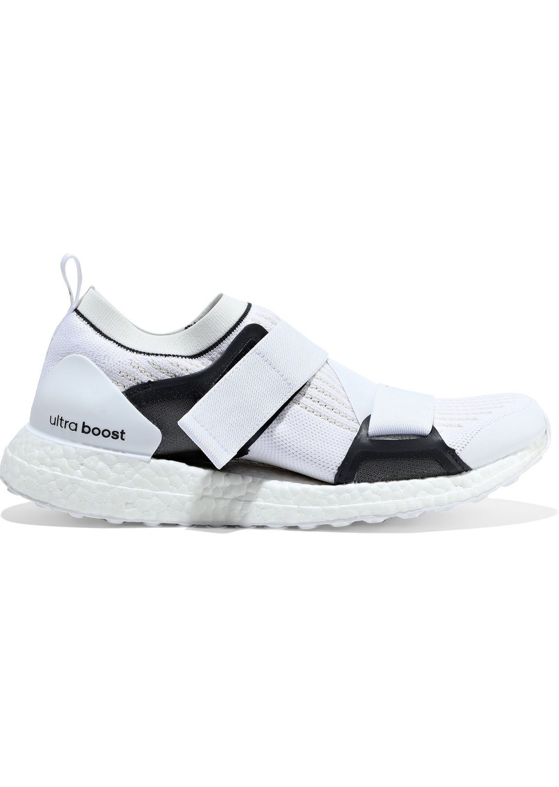Adidas By Stella Mccartney Woman Ultraboost Stretch-knit Sneakers White