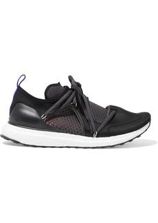 Adidas By Stella Mccartney Woman Ultraboost T Neoprene And Mesh Sneakers Black
