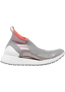 Adidas By Stella Mccartney Woman Ultraboost X Holographic Primeknit Slip-on Sneakers Gray