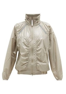 Adidas By Stella McCartney Zipped shell windbreaker jacket