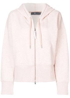 Adidas By Stella Mccartney zipped sports hoody - Pink & Purple