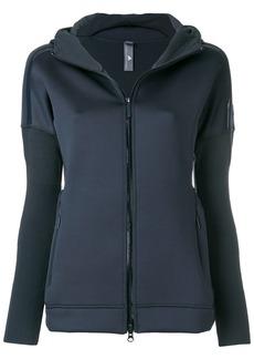 Adidas By Stella Mccartney Z.N.E. knit hoodie - Grey