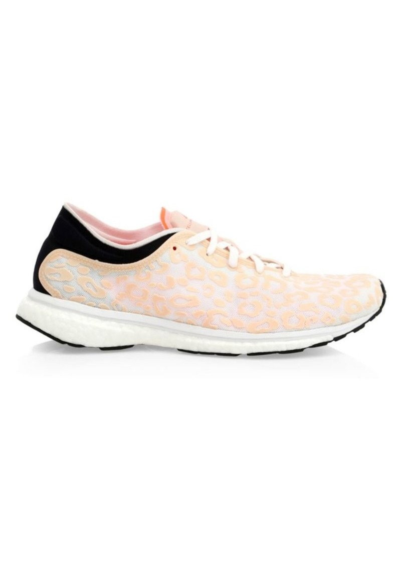 Adidas by Stella McCartney Adizero Adios Animal-Print Sneakers