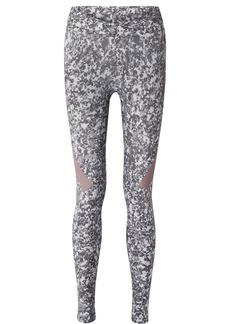 Adidas by Stella McCartney Alphaskin 360 Printed Climachill Stretch Leggings