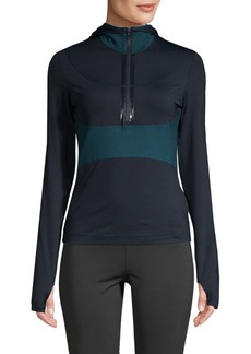 Adidas by Stella McCartney Colorblocked Active Hoodie