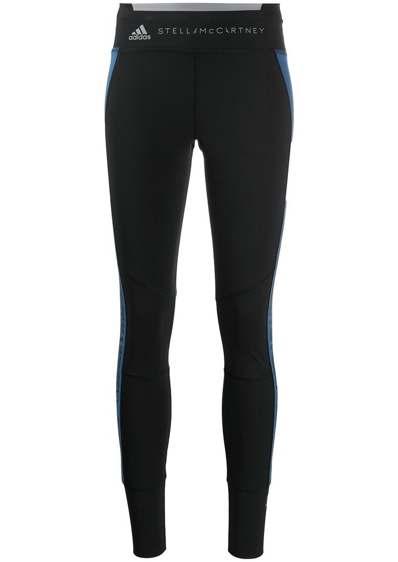 Adidas by Stella McCartney contrast stripe leggings