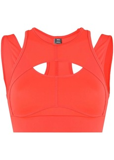 Adidas by Stella McCartney cropped compression top