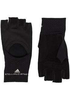 Adidas by Stella McCartney cut-out training gloves
