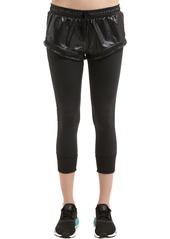 Adidas by Stella McCartney Essentials Layered Shorts W/ Leggings
