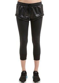 Adidas by Stella McCartney Essentials Layered Shorts W/ Leggings