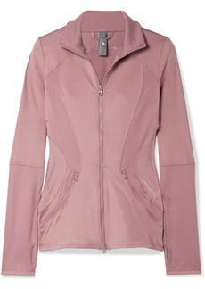 Adidas by Stella McCartney Essentials Mesh-paneled Climalite Jacket