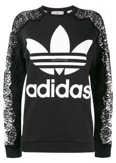Adidas by Stella McCartney lace sweatshirt