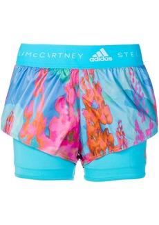Adidas by Stella McCartney layered look sports leggings