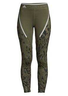 Adidas by Stella McCartney Leopard Run Leggings