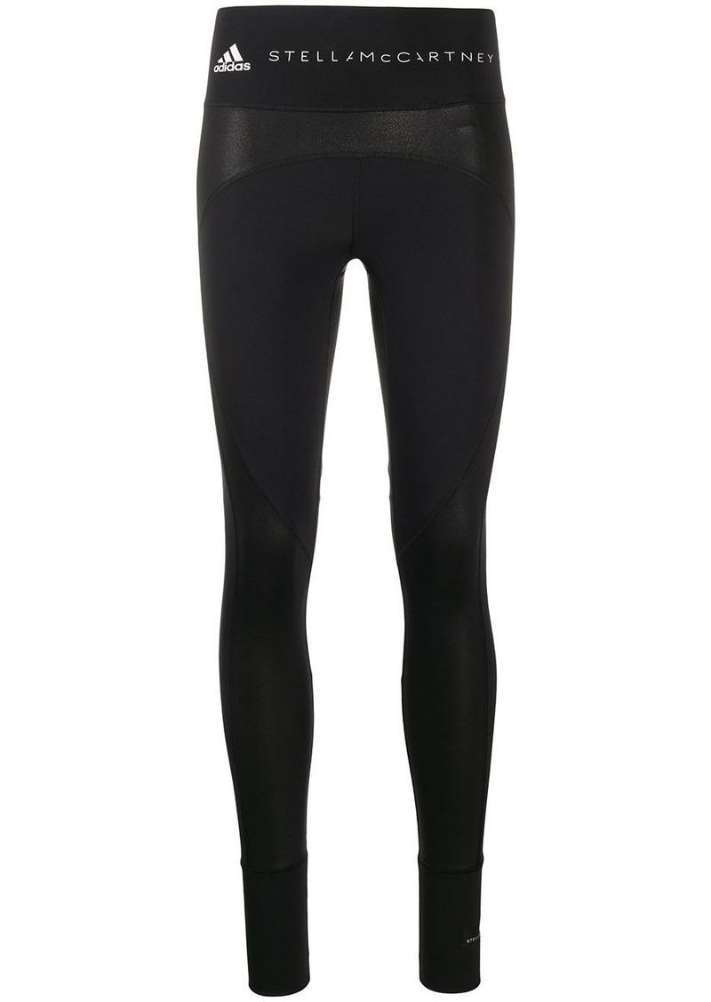 Adidas by Stella McCartney logo band performance leggings