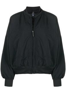 Adidas by Stella McCartney logo-print bomber jacket