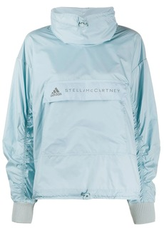 Adidas by Stella McCartney logo-print lightweight jacket
