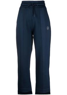 Adidas by Stella McCartney logo-print tapered track pants