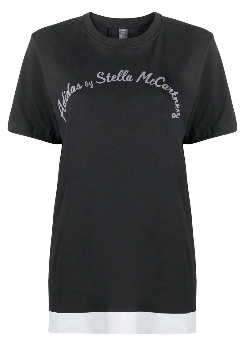 Adidas by Stella McCartney logo T-shirt