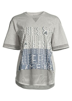Adidas by Stella McCartney Mesh Logo Tee