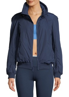 Adidas by Stella McCartney Padded Zip-Front Short Training Jacket
