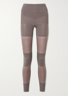 Adidas by Stella McCartney Paneled Stretch-knit Leggings