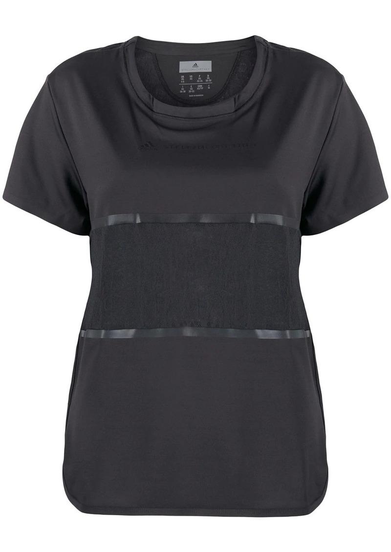 Adidas by Stella McCartney paneled T-shirt