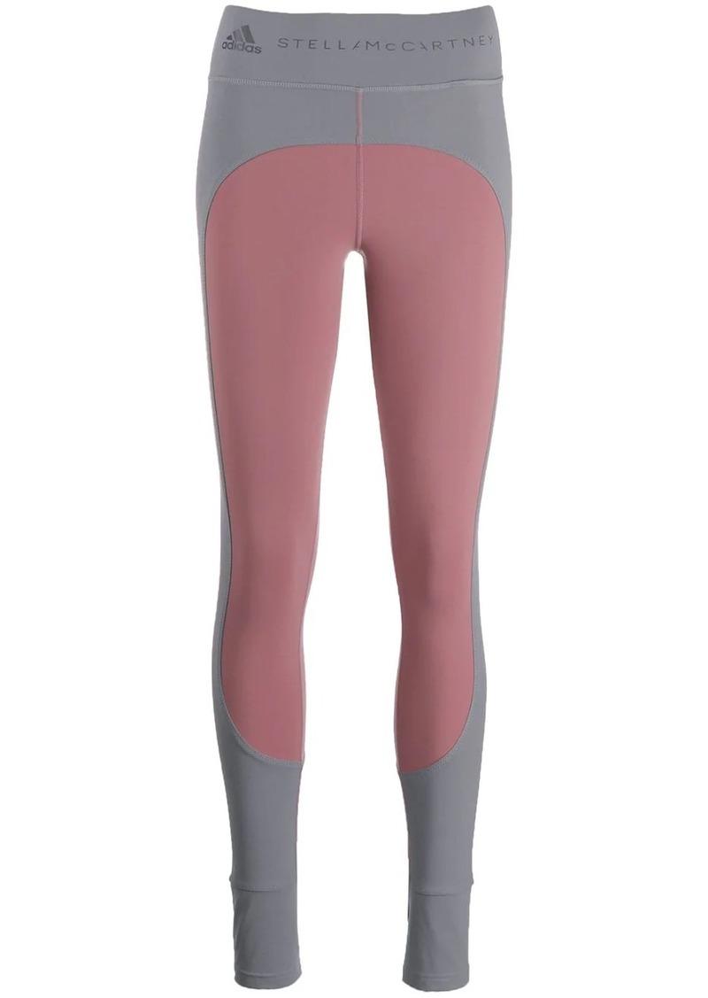 Adidas by Stella McCartney panelled leggings