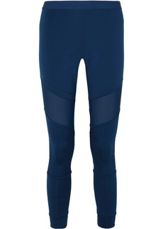 Adidas by Stella McCartney Parley For The Oceans Essentials Mesh-paneled Climalite Leggings