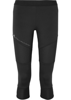 Adidas by Stella McCartney Parley For The Oceans Performance Essentials Mesh-paneled Climalite Leggings