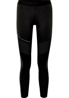 Adidas by Stella McCartney Parley For The Oceans Performance Essentials Mesh-paneled Stretch Leggings