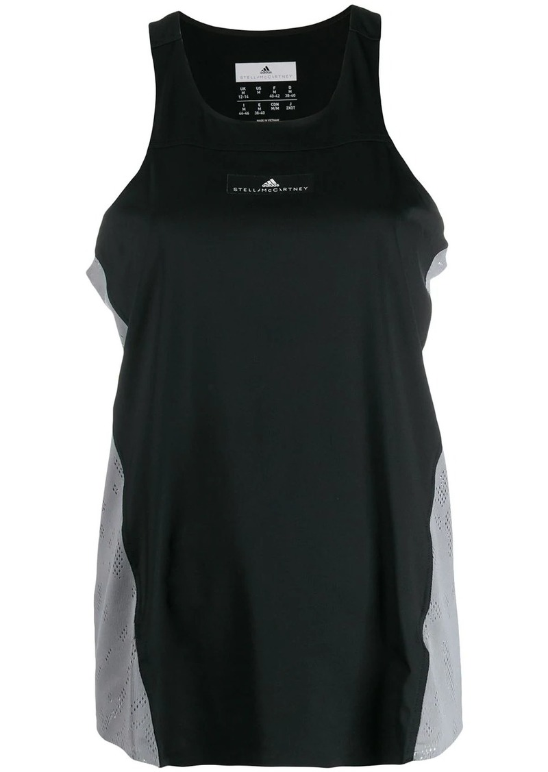 Adidas by Stella McCartney perforated details tank top