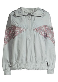 Adidas by Stella McCartney Recycled Polyester Pullover Zip Windbreaker