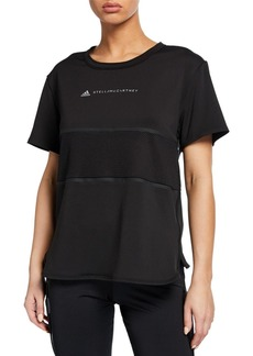 Adidas by Stella McCartney Run Loose Short-Sleeve Tee