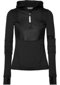 Adidas by Stella McCartney Run Paneled Stretch Hoodie