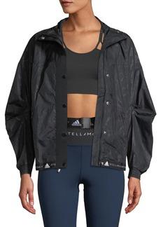 Adidas by Stella McCartney Run Wind-Resistant Floral Performance Jacket