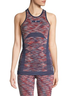 Adidas by Stella McCartney Space Dye Seamless Yoga Tank Top