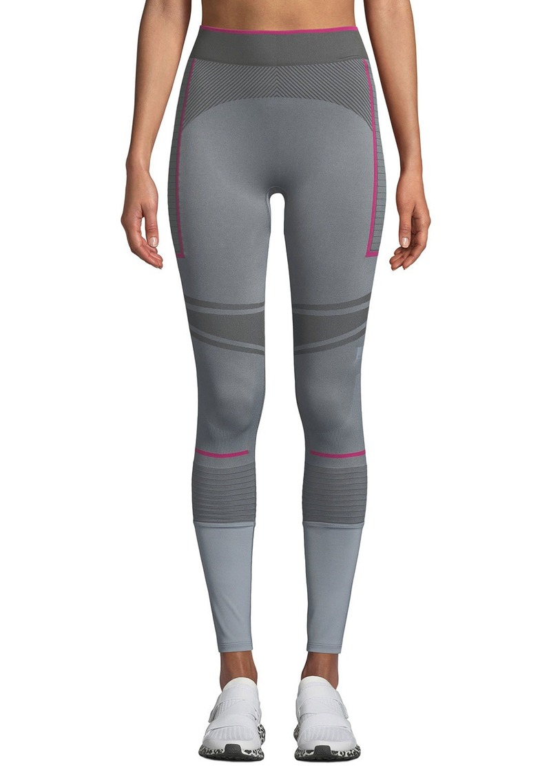 97d8365d00 Adidas by Stella McCartney Training Seamless Colorblock Performance Tights