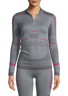 Adidas by Stella McCartney Training Seamless Long-Sleeve Performance Top