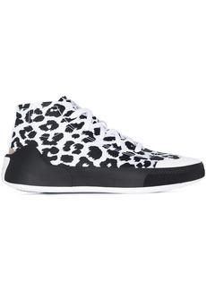 Adidas by Stella McCartney Treino leopard print high-top sneakers