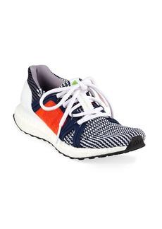 Adidas by Stella McCartney UltraBoost Colorblock Knit Sneakers  Blue/Orange