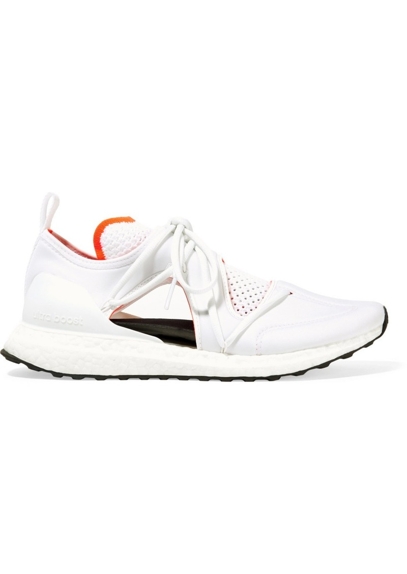 Adidas by Stella McCartney Ultraboost T Cutout Neoprene And Primeknit Sneakers