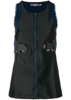 Adidas by Stella McCartney zipped compression tank