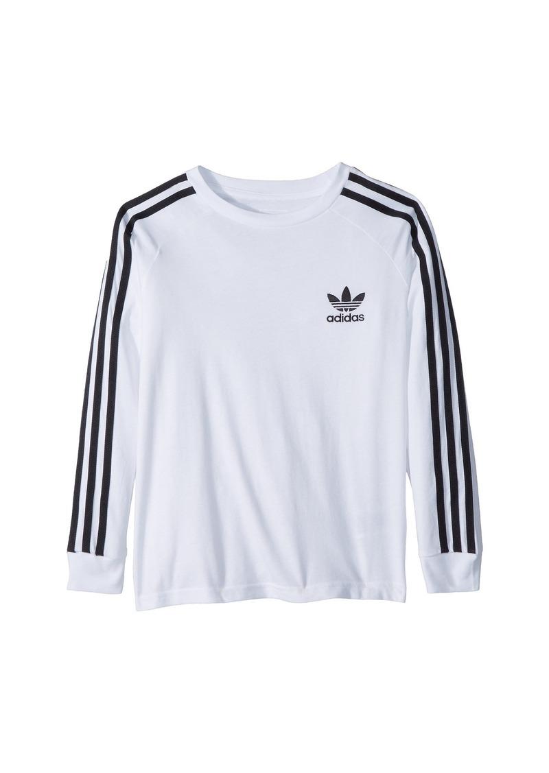 Adidas California Long Sleeve Tee (Little Kids/Big Kids)