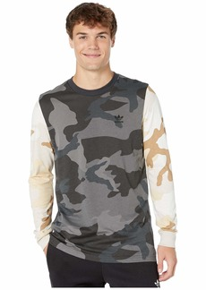 Adidas Camo Mix Long Sleeve Tee
