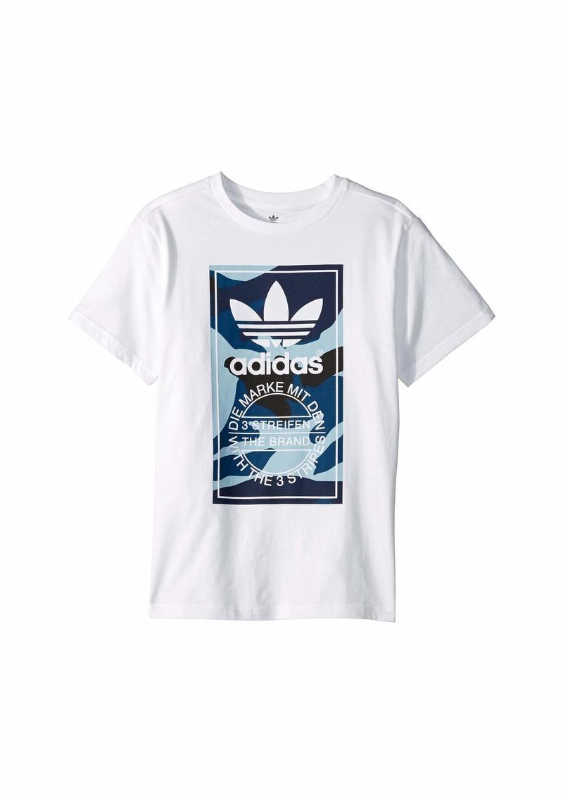 Adidas Camo Tee (Little Kids/Big Kids)