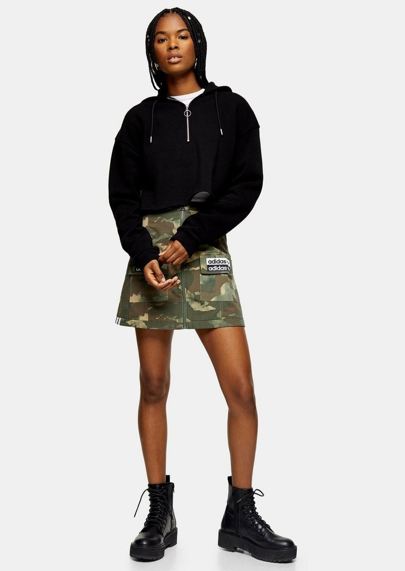 Camouflage Patch Skirt By Adidas