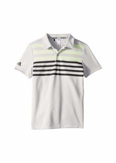 Adidas Chest Stripe Fashion Polo (Little Kids/Big Kids)