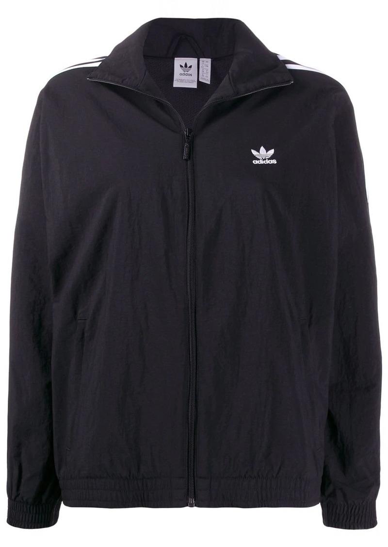 Adidas zip-up track jacket